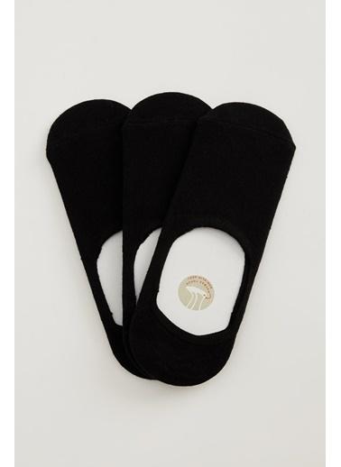 DeFacto 3'lü Çorap Siyah